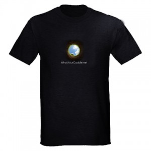 Black shirt and