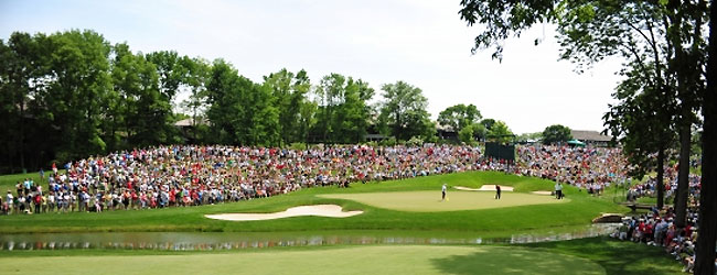 Image of the Memorial Day Golf Tournament.