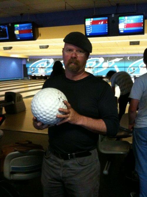jamie-hyneman-giant-golf-ball
