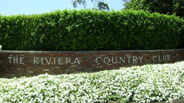 The Riviera Country Club Brentwood Los Angeles