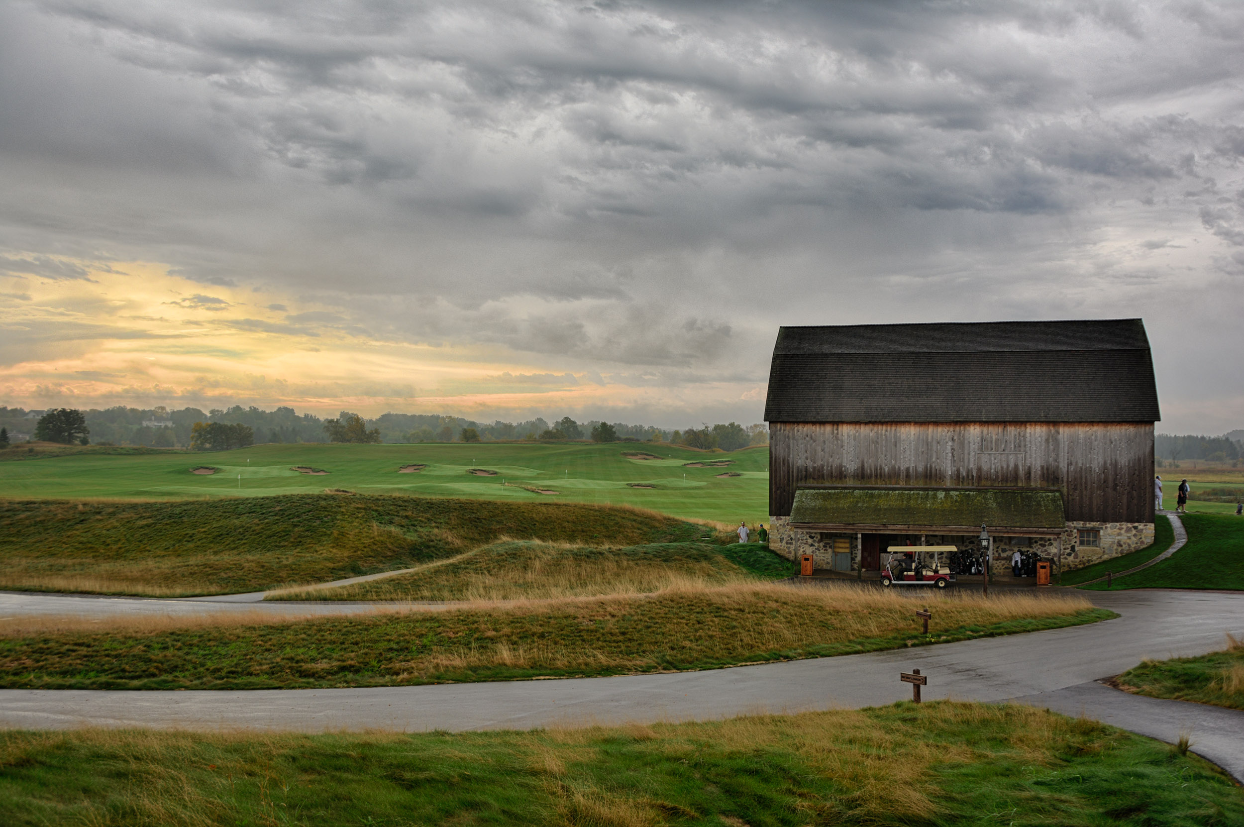 The US Open Whos Your Caddie - Erin hills us open map