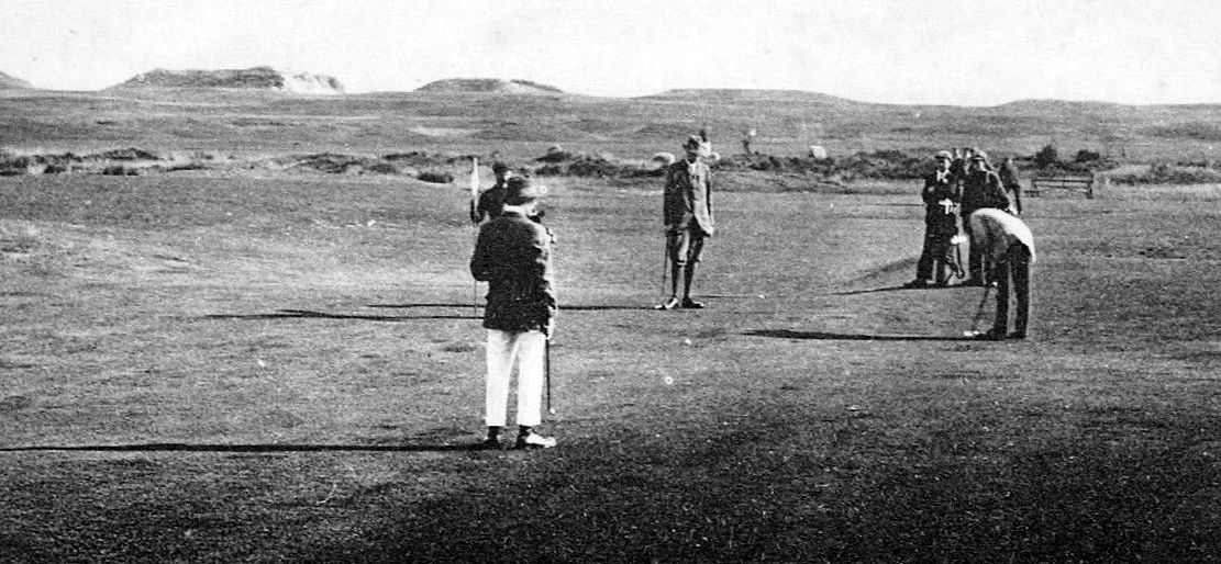 Old Photograph Second Hole Old Golf Course St Andrews Fife Scotland